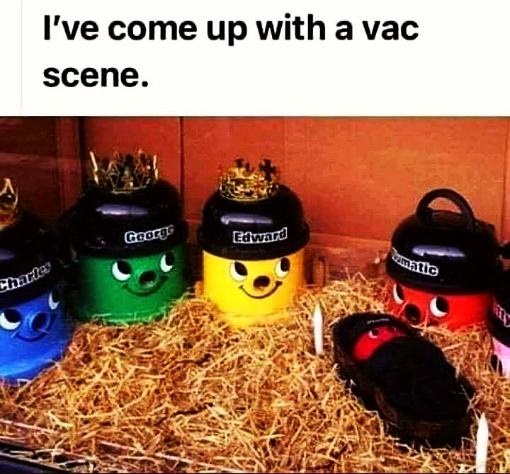 I've come up with a vac scene (humour)