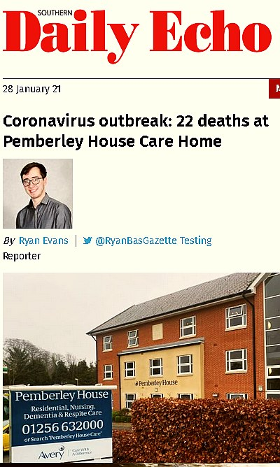 22 people have asdied (over 1/3 of the residents!) at Pemberley House in Basingstoke / UK after receiving the covid-19 vaccine.